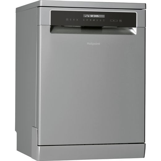 Hotpoint HFP5O41WLGXUK Standard Dishwasher - Stainless Steel Effect - C Rated