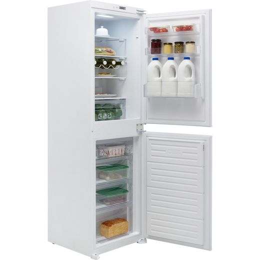 Hoover BHBF172UKT/N Integrated 50/50 Frost Free Fridge Freezer with Sliding Door Fixing Kit - White - F Rated