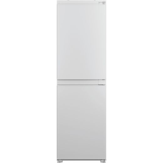 Indesit IBC185050F1 Integrated Frost Free Fridge Freezer with Fixed Door Fixing Kit - White - F Rated