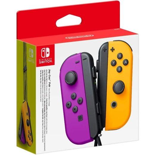 Nintendo Joy-Con Pair - Neon Purple / Neon Orange