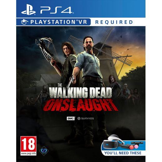 The Wallking Dead : Onslaught for Sony PlayStation