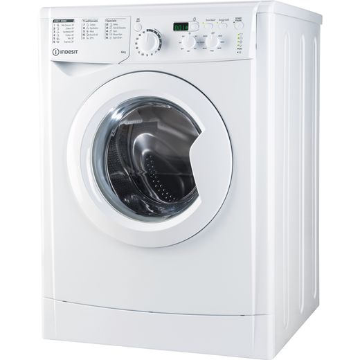 Indesit EWSD61251WUKN 6Kg Washing Machine with 1200 rpm - White - F Rated