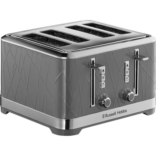 Russell Hobbs Structure 28102 4 Slice Toaster - Grey