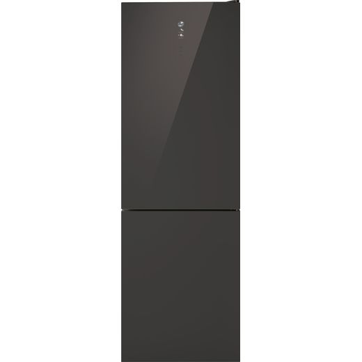Hoover H-FRIDGE 500 HFDG6182MANN 70/30 Frost Free Fridge Freezer - Graphite Glass - F Rated