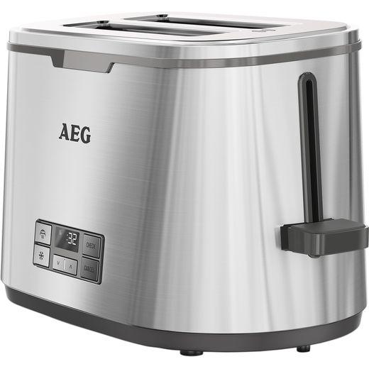 AEG 7 Series 2 Slot Digital AT7800-U 2 Slice Toaster - Stainless Steel