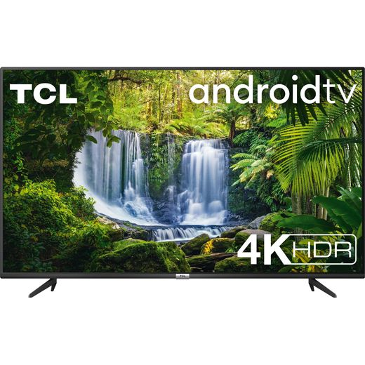 """TCL 50P615K 50"""" Smart 4K Ultra HD Android TV"""