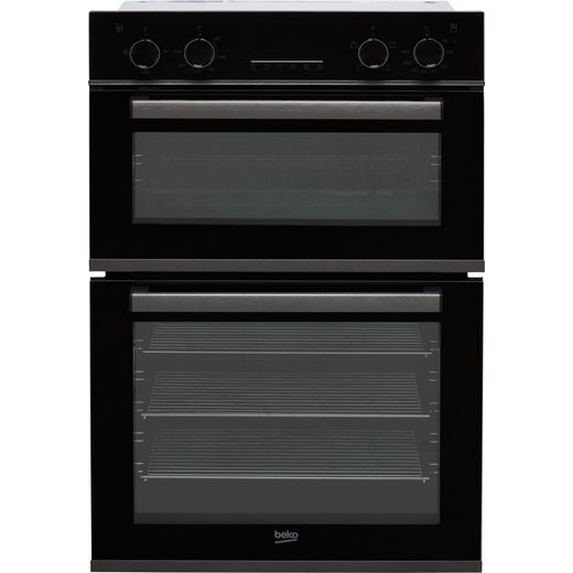 Beko RecycledNet™ BBXDF29300Z Built In Electric Double Oven - Dark Steel - A/A Rated