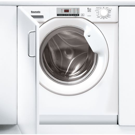 Baumatic BDI1485D4E/1 Integrated 8Kg / 5Kg Washer Dryer with 1400 rpm - White - D Rated