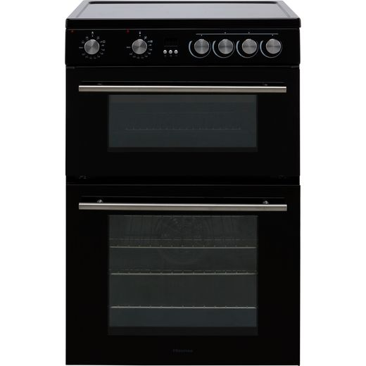 Hisense HDE3211BBUK Electric Cooker with Ceramic Hob - Black - A+/A Rated
