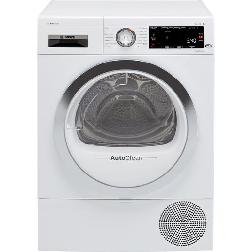 Bosch Serie 8 WTX88RH9GB Heat Pump Tumble Dryer - White