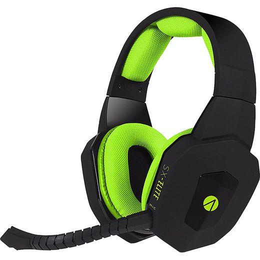 Stealth SX-ELITE Gaming Headset - Black / Green