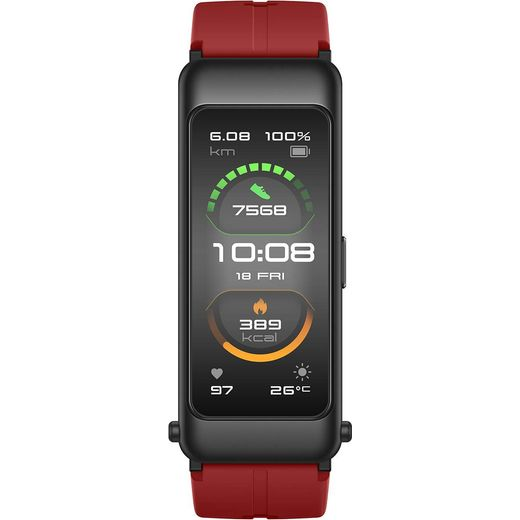 HUAWEI Talkband B6 Fitness Tracker - Coral Red