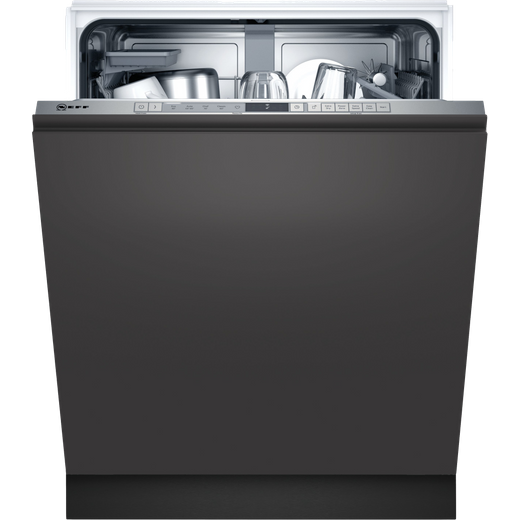 NEFF N30 S153HAX02G Built In Standard Dishwasher - Stainless Steel