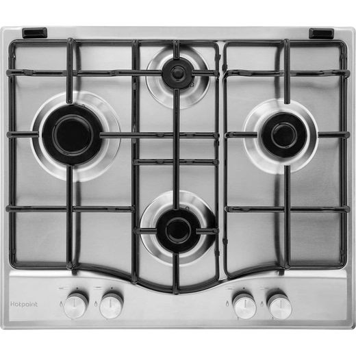 Hotpoint Newstyle PCN642IXH Built In Gas Hob - Stainless Steel