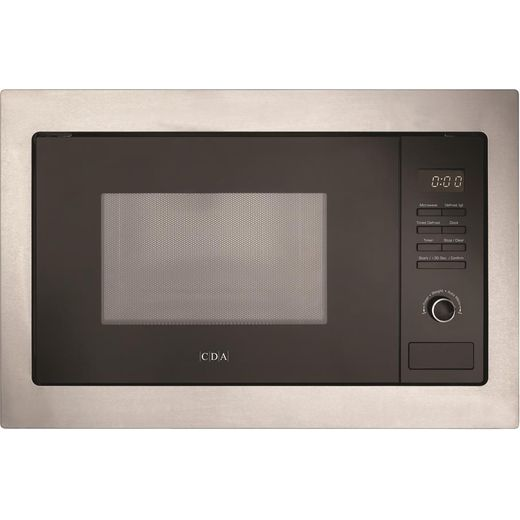CDA VM131SS Built In Microwave - Stainless Steel
