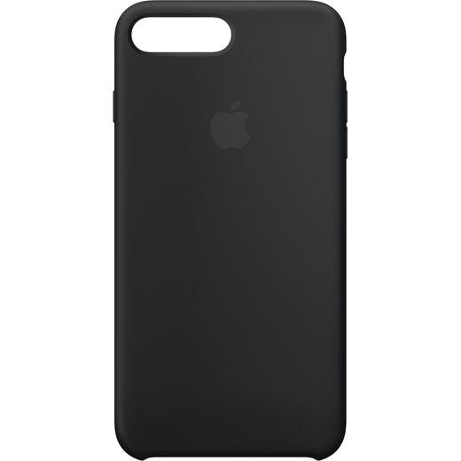 Apple Silicone Case - Black for iPhone 7 Plus and 8 plus - Black