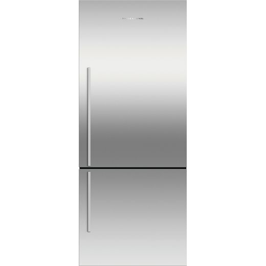 Fisher & Paykel RF442BRXFD5 Frost Free Fridge Freezer - Stainless Steel - F Rated