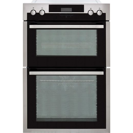 AEG DCS431110M Built In Electric Double Oven - Stainless Steel - A/A Rated