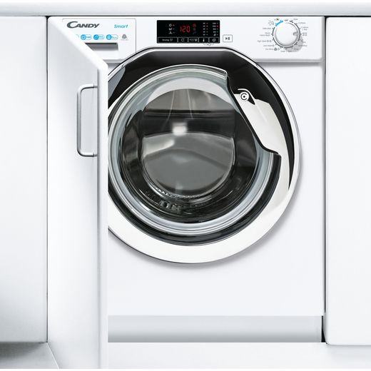Candy CBD485D1CE/1 Integrated 8Kg / 5Kg Washer Dryer with 1400 rpm - White - E Rated