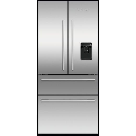 Fisher & Paykel Designer RF523GDUX1 American Fridge Freezer - Stainless Steel - F Rated