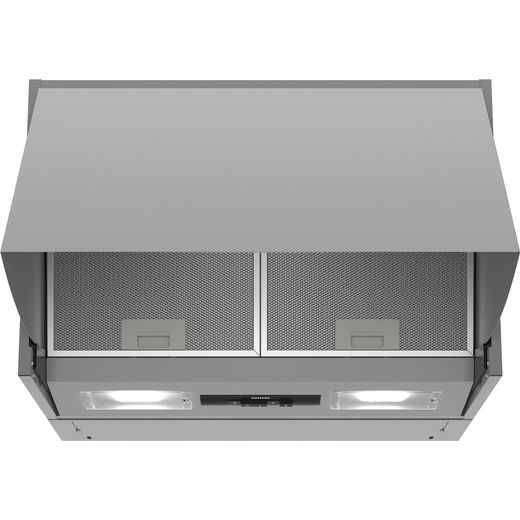Siemens IQ-100 LE63MAC00B 60 cm Integrated Cooker Hood - Silver - D Rated