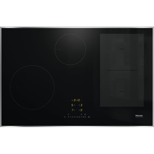 Miele KM7474FR 81cm Induction Hob - Black