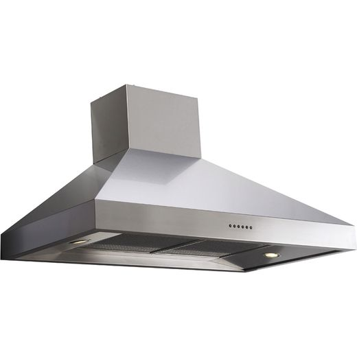 Britannia Latour HOOD-BTH120-S 120 cm Chimney Cooker Hood - Stainless Steel - A Rated