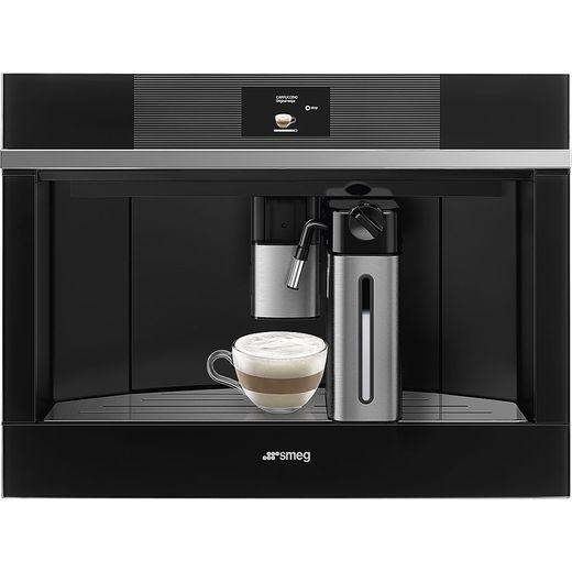 Smeg Linea CMS4104N Built In Bean to Cup Coffee Machine - Black