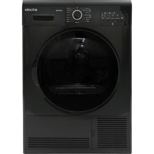Electra TDC9112B 9Kg Condenser Tumble Dryer - Black - B Rated