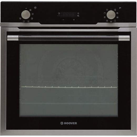 Hoover H-OVEN 500 HOZ5870IN Built In Electric Single Oven - Black / Stainless Steel - A Rated
