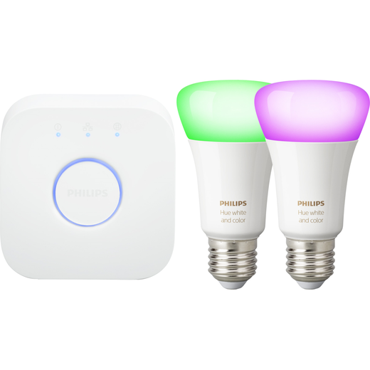 Philips Hue E27 Starter Kit - A+ Rated