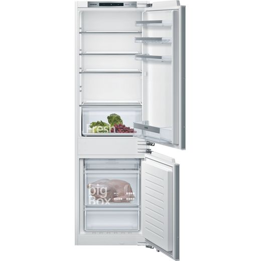 Siemens IQ-300 KI86NVFF0G Integrated 70/30 Frost Free Fridge Freezer with Fixed Door Fixing Kit - White - F Rated