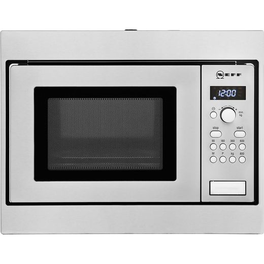 NEFF Classic Collection 3 H53W50N3GB Built In Microwave - Stainless Steel