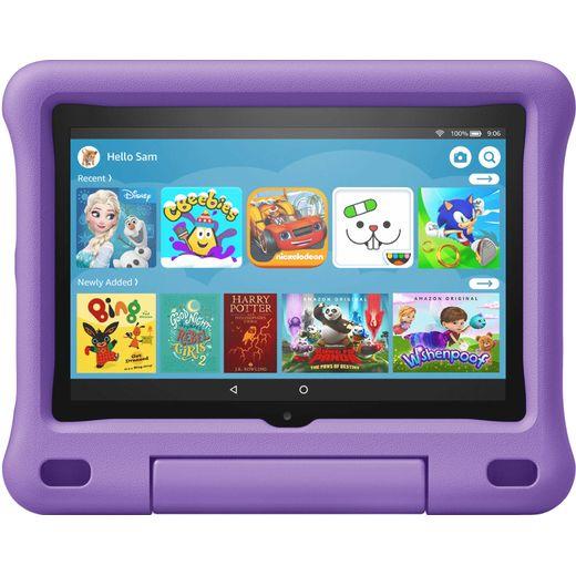"""Amazon Fire HD Kids Edition 8"""" 32GB Wifi Tablet - Purple"""
