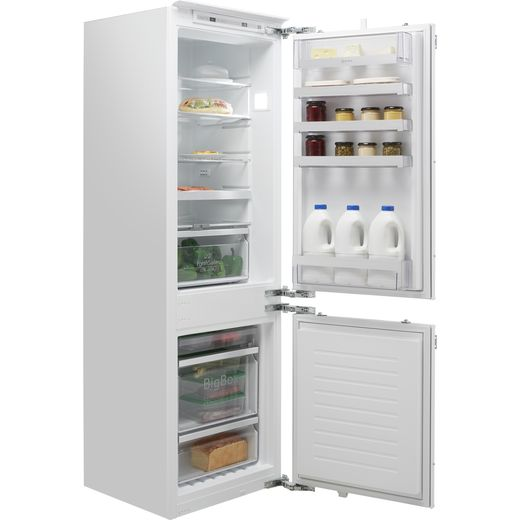 NEFF N70 KI7863DF0G Integrated 60/40 Frost Free Fridge Freezer with Fixed Door Fixing Kit - White - F Rated