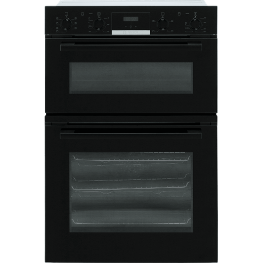 Bosch Serie 4 MBS533BB0B Built In Electric Double Oven - Black - A/B Rated