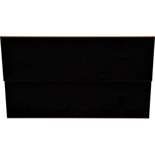 Smeg Dolce Stil Novo KSVV90NRA 90 cm Chimney Cooker Hood - Black / Copper - A Rated