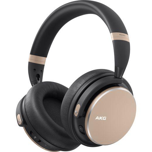 AKG Y600NC Over-Ear Wireless Bluetooth Headphones - Gold