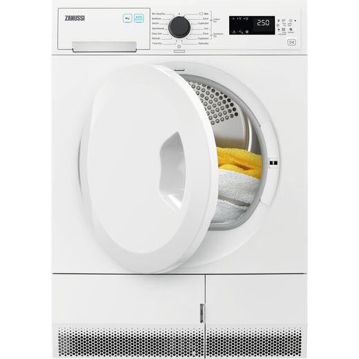 Zanussi ZDC82B4SW 8Kg Condenser Tumble Dryer - White - B Rated