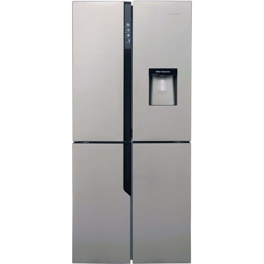 Hisense FMN431W20C American Fridge Freezer - Stainless Steel Effect