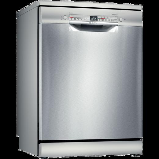 Bosch Serie 2 SMS2HVI66G Standard Dishwasher - Stainless Steel