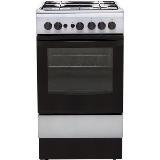 Indesit Cloe IS5G1PMSS 50cm Gas Cooker - Silver - A Rated