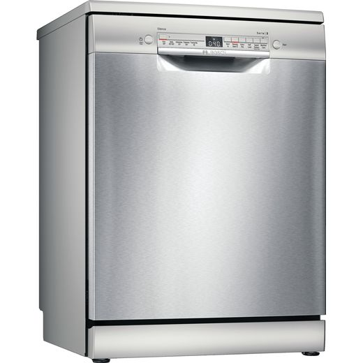 Bosch Serie 2 SMS2ITI41G Wifi Connected Standard Dishwasher - Stainless Steel Effect - E Rated