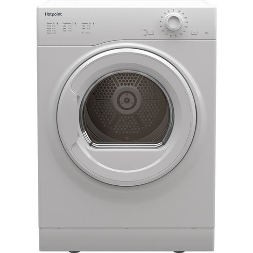 Hotpoint H1D80WUK 8Kg Vented Tumble Dryer - White - C Rated