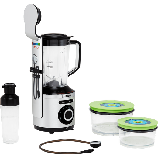 Bosch VitaPower Serie 8 MMBV625M 1.5 Litre Vacuum Blender with 3 Accessories - Silver