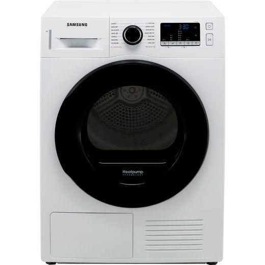 Samsung Series 5 OptimalDry™ DV90TA040AE 9Kg Heat Pump Tumble Dryer - White - A++ Rated