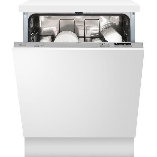 Amica ADI630 Built In Standard Dishwasher - Silver