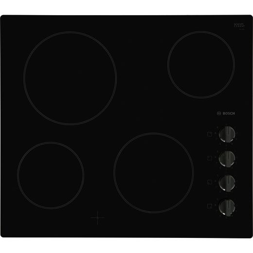 Bosch Serie 2 PKE611CA1E 59cm Ceramic Hob - Black