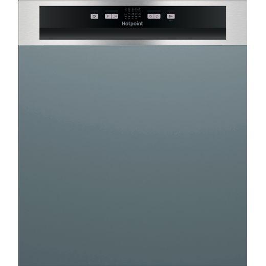 Hotpoint HBC2B19XUKN Built In Standard Dishwasher - Silver