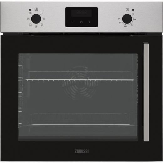 Zanussi ZOCNX3XL Built In Electric Single Oven - Stainless Steel - A Rated